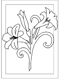flower coloring pages part 3