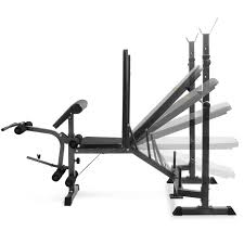 Life Fitness Multi Adjustable Bench Multi Functional Fitness Bench Black Wholesales Direct