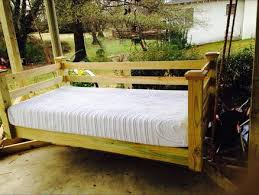 porch bed swing swing bed by leestanford lumberjocks com