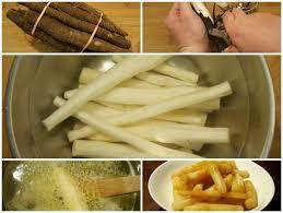 cuisiner salsifis eplucher et pocher à blanc des scorsonères ou salsifis en