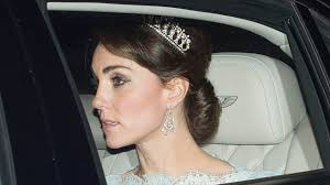 kate middleton stuns in princess diana u0027s favorite tiara