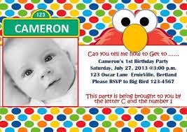 sesame street birthday invitations ideas u2014 all invitations ideas