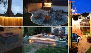Patio Lighting 15 Diy Backyard And Patio Lighting Projects Amazing Diy