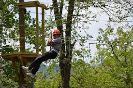 Backyard Zip Line Without Trees by Ziplining Tours U0026 Adventure Courses In Laurel Highlands Pa