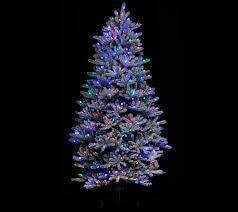 santa u0027s best 6 5 u0027 rgb 2 0 flocked balsam fir christmas tree page