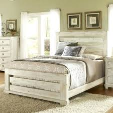 distressed white bed framebeds extraordinary distressed bed frame