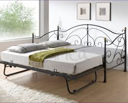 daybeds black metal daybed with trundle pop up sale bedsonline