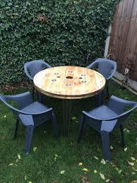 Cable Reel Chair Bespoke Furniture In Steel U0026 Wood