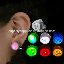 led earrings clip on led earrings buy christmas light up earring