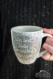 cute mugs 11 cute diy sharpie decorated crockery items shelterness