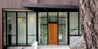 modern house door modern front door ideas wooden glass facade contemporary house ideas