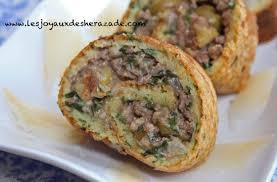 cuisine du ramadan cuisine du ramadan 2015 roulé salé les joyaux de sherazade