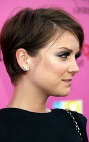 short hairstyle to tuck behind ears photo gallery of short hairstyles cut around the ears viewing 17 of