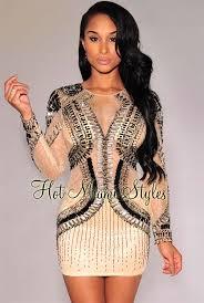 embellished dress embellished sleeves padded dress