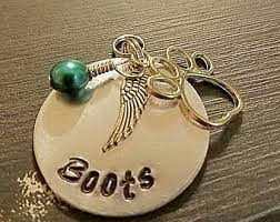 Baby Dog Tags Angel Wing Dog Tag Etsy
