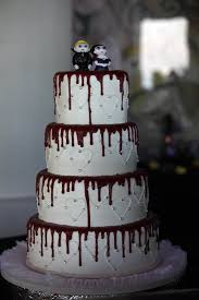 amity originals halloween wedding wednesday the cake
