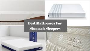 Best Firm Mattress Topper Best 4 Best Mattresses For Stomach Sleepers
