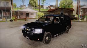 undercover police jeep chevrolet tahoe for gta san andreas