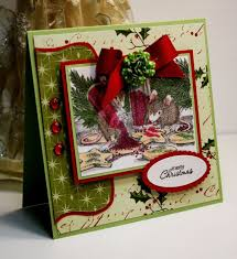 160 best christmas house mouse cards images on pinterest