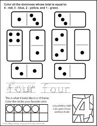 number bonds to 4 free math printables
