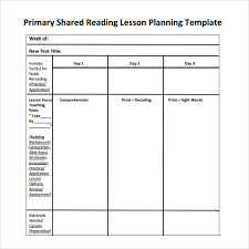 sample guided reading lesson plan template guided reading lesson
