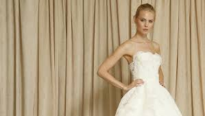 oscar de la renta lace wedding dress oscar de la renta fall 2014 bridal collection