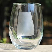 stemless wine glasses alabama stemless wine glass