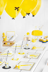 How To Decorate Birthday Party At Home by Best 20 Yellow Party Decorations Ideas On Pinterest Streamer