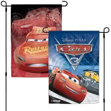 Red Flag Nascar Wincraft Cars 3 Nascar 12 U0027 U0027 X 18 U0027 U0027 Two Sided Garden Flag Nascar