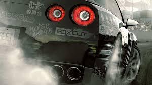 nissan skyline desktop wallpaper cars need for speed prostreet nissan skyline gt r streets tailight