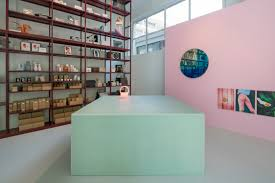 groos concept store features custom built cabinet of rotterdam
