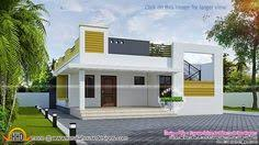 Kerala House Single Floor Plans With Elevations U20b910 Lakhs Budget Smallbudget Single Floor House In An Area Of 812