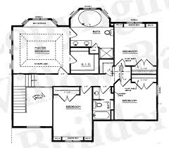53 open concept floor plans bedroom log home plan real log style