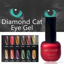 monasi wholesale 7 5ml diamond cat eye uv gel polish for choose