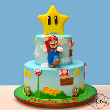 mario birthday cake lovely cakes kids cakes