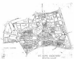 Map Of Boston Area Boston Area Cemeteries