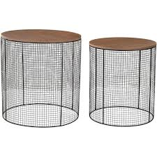 Wire Side Table Black Wire Side Table Free Shipping Today Overstock With
