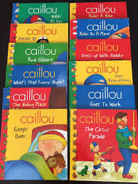 caillou book collection sale winnipeg manitoba 2017