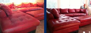 Leather Sofa Color Restoration by Leather Furniture Color Restoration Oregon Leather Pros