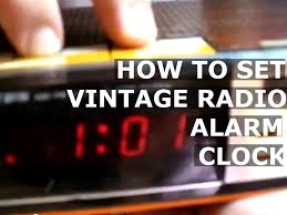 A 2 15 Alarm 2 by How To Set Time Alarm Clock Of Vintage Old Lloyd U0027s J375 771a Radio