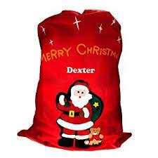 personalised santa sack embroidered santa sack special