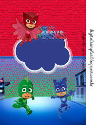 103 pj mask images mask party pajamas