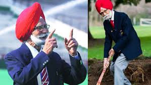 trendy sign balbir s picture my last wish is to see india win gold in hockey balbir singh senior