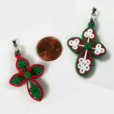 cross paper quilling pendant paper quilling quilling