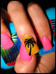 nail designs beach nail arts