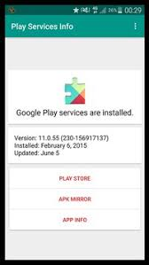 gogle play service apk play services info apk free tools app for android