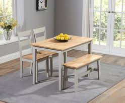 dining room table with bench dining table and bench sets the great furniture trading company