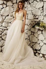 tulle wedding dresses uk sleeveless beading court spaghetti straps a line tulle