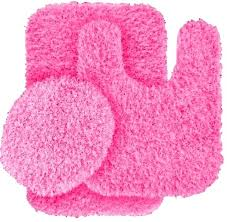 Pink Bathroom Rugs And Mats Lovely Pink Bath Rug Tie Dye Bath Rug Set A Liked On Featuring