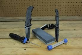 lansky sharpeners how to sharpen serrations